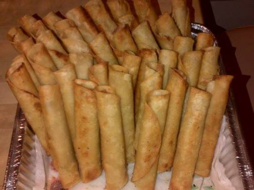 Turkey Stuffing Taquitos